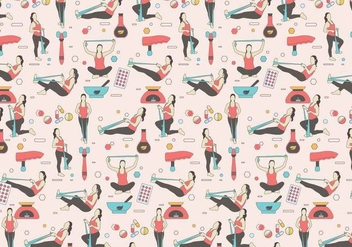 Physiotherapist Pattern Vector - vector #436459 gratis