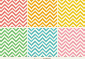 Vector Colorful Seamless Zig Zag Pattern - Free vector #436559