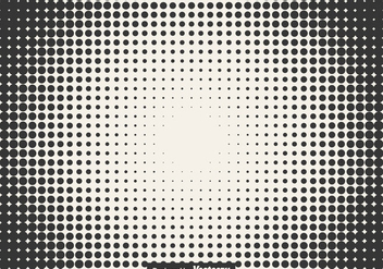 Halftone Vector Illustration - vector #436589 gratis
