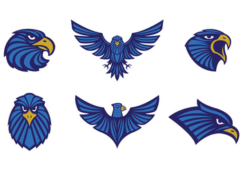 Free Eagles Logo Vector Tribal - vector gratuit #436649