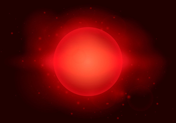 Red Starry, Gas, Nebula, Supernova and Outer Space Background - vector #436829 gratis