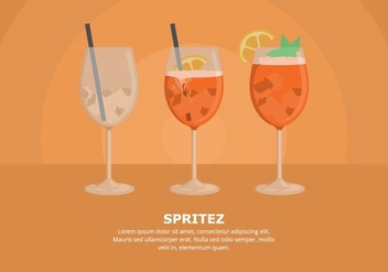 Spritz Illustration - vector #436999 gratis