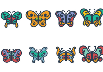 Mariposa Icon Vector - бесплатный vector #437099
