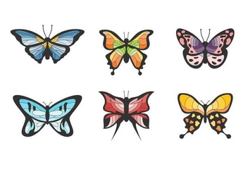 Free Beautiful Mariposa Vector - бесплатный vector #437159