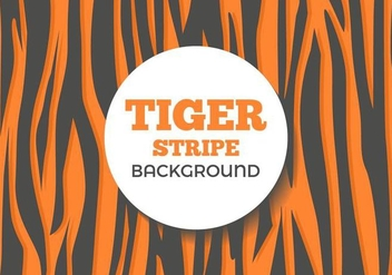 Free Tiger Stripe Background Vector - vector #437259 gratis