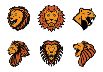 Free Lion Mascot Vector - Kostenloses vector #437389