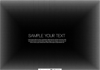 Vector Halftone Bacckground - Free vector #437679