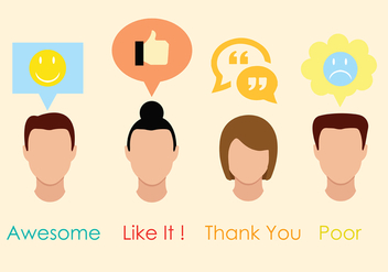 Testimonials Vector Pack - Free vector #437939