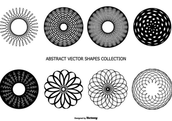 Abstract Vector Shapes Collection - Free vector #438359