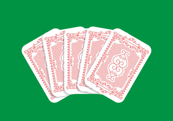 Playing Card Design - vector gratuit #438459