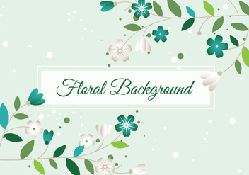 Free Spring Season Vector Background - vector gratuit #438549
