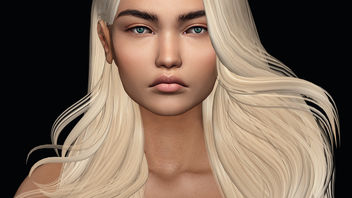 Don't Speak Eyes by theSkinnery @ Rewind & Hairstyle Morgana by Iconic @ ON9 - Free image #438589