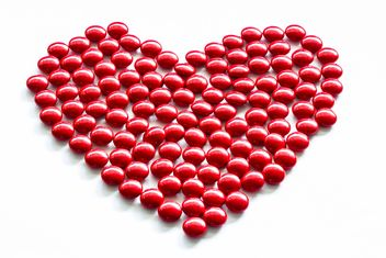 Red heart - image gratuit #439149