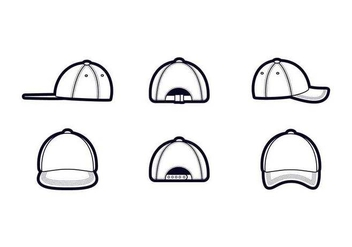 Free Outstanding Hat Vectors - бесплатный vector #439329
