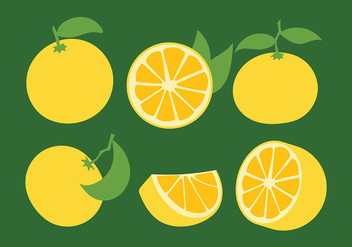 Clementine Vector Icons - Free vector #439379