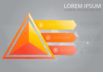 Prism Infographic Template - vector #440029 gratis