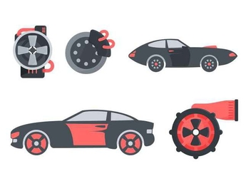 Free Outstanding Automotive Vectors - Kostenloses vector #440619