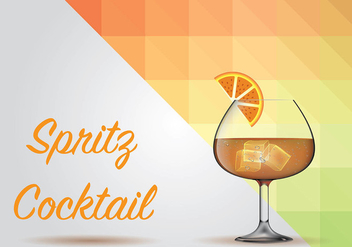 Spritz Background Vector - vector gratuit #440629
