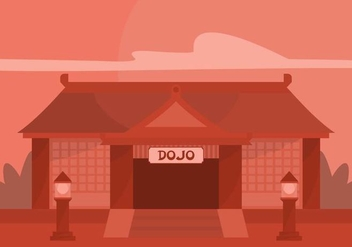 Dojo Illustration - vector gratuit #440789