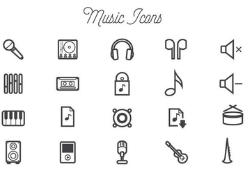 Free Music Vectors - Free vector #440919