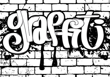 Graffiti Style Illustration - Free vector #441359
