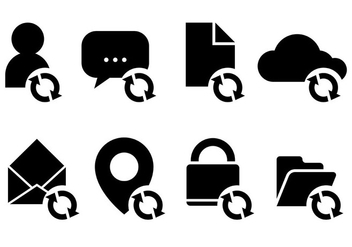 Update Icon Vector Icons - Free vector #441449