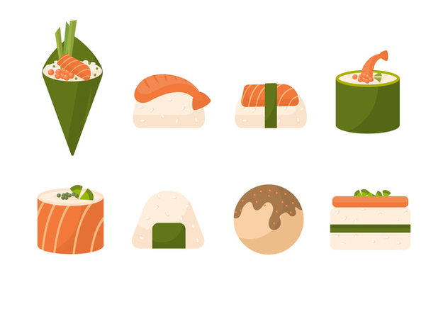 Free Sushi Vector Collection - Free vector #441639