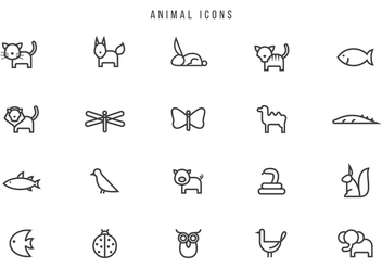 Free Animal Vectors - vector #441749 gratis