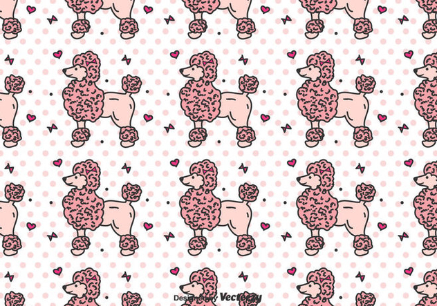 Poodle Vector Pattern - бесплатный vector #442009