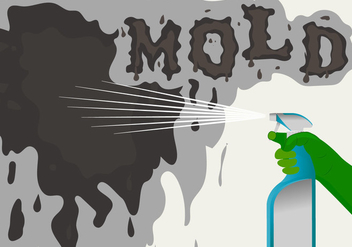 Spraying Mold Vector Background - Kostenloses vector #442019