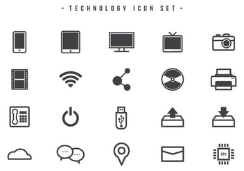 Free Technology Vectors - vector gratuit #442039