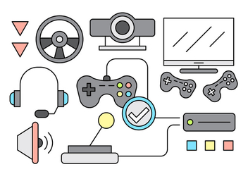 Free Gaming Icons - vector gratuit #442669