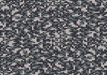 Digital Camouflage Texture - Vector - Free vector #442699