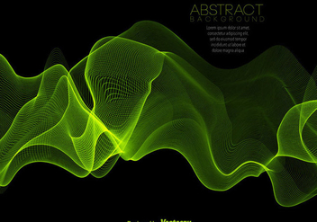 Abstract Green Spectrum Background - Vector - бесплатный vector #443019