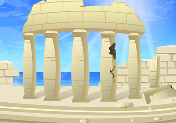Greek Corinthian - vector #443129 gratis