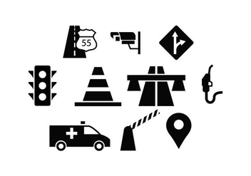 Free Traffic Icon Vector - Kostenloses vector #443299