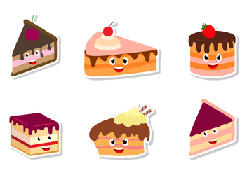 Cute Smile Tiramisu - Free vector #444099