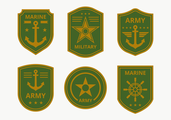 Marine Corps Badge Collection - Free vector #444149