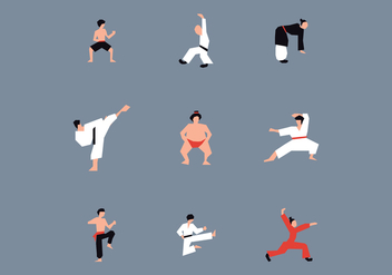 Dojo People - vector #444209 gratis