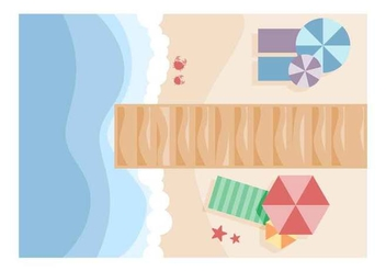 Free Outstanding Boardwalk Vectors - vector gratuit #444319