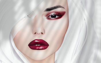Lami Eyemakeup & Lips by Zibska @ Vintage Fair - бесплатный image #444909