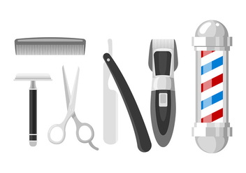 Shaver Set Free Vector - Free vector #445039