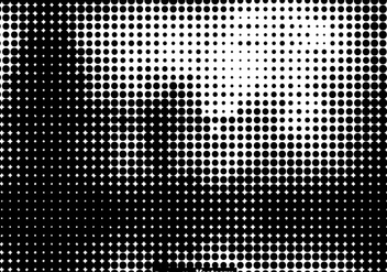 Vector Halftone Template - Free vector #445529