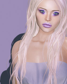 Neelam Lips & Miela Eyeshadow by Zibska @ Cosmetic Fair - image gratuit #446199