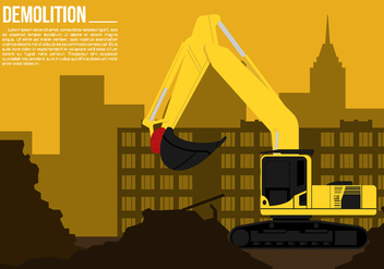 Demolition Free Vector - vector #446359 gratis