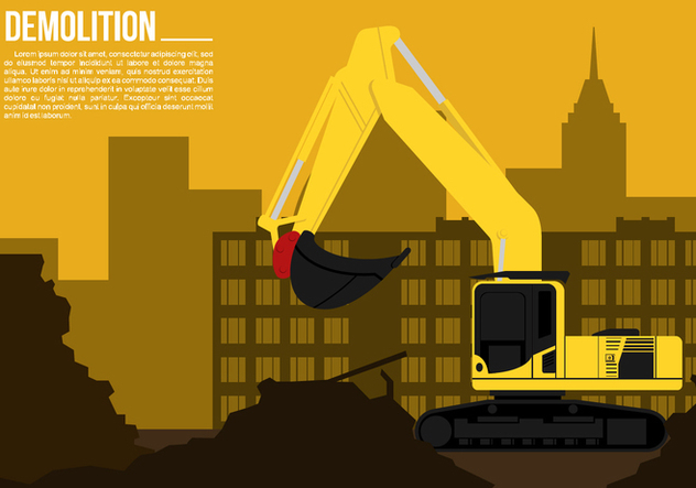 Demolition Free Vector - vector gratuit #446359
