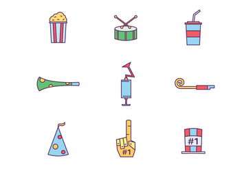 Festival Icons - Free vector #446399