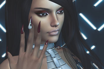 Crow Bento Mesh Nail by SlackGirl @Midsummer Enchantment & Laura Shadow by SlackGirl - Kostenloses image #446529