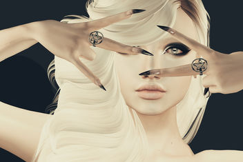 Penta Benta Mesh Nail & Ring by SlackGirl @ The Darkness - image #446909 gratis