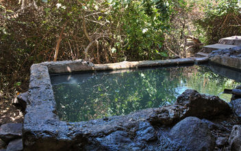 Ein Pik - natural spring in Golan heights, Israel - бесплатный image #447239